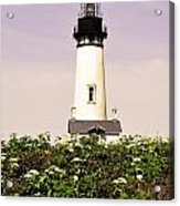 Yaquina Lighthouse In May Acrylic Print