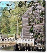 Yates Mill Acrylic Print by Kevin Croitz