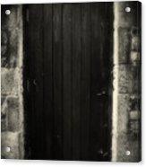 Victorian Cottage Door  Acrylic Print