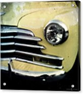 Yellow Chevrolet Acrylic Print