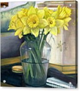 Yellow Daffodils Acrylic Print