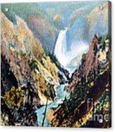 Yellowstone Canyon Yellowstone Np Acrylic Print