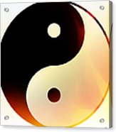 Yin And Yang 3 Acrylic Print