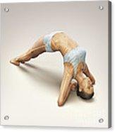 Yoga Upward Facing Two-foot Staff Pose Acrylic Print