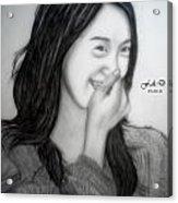 Yoona Acrylic Print