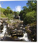 Yorkshire Dales Waterfall Acrylic Print