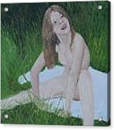 Young Naturist Acrylic Print