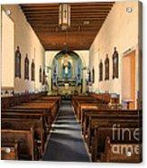 Ysleta Mission Of El Paso Texas Acrylic Print