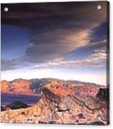 Zabriskie Point Death Valley Acrylic Print