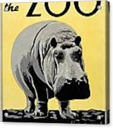 Zoo Poster C1936 Acrylic Print