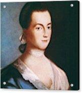 Abigail Adams (1744-1818) Acrylic Print