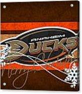 Anaheim Ducks Acrylic Print