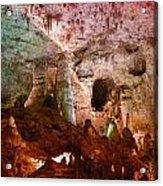 Carlsbad Cavern Acrylic Print