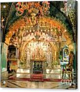 Church Of The Holy Sepulchre In Jerusalem Acrylic Print