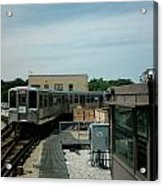 Cta's Retired 2200-series Railcar Acrylic Print