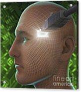 Digital Connection Acrylic Print