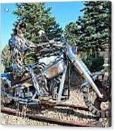 Freedom Biker. Acrylic Print