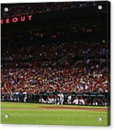 Kansas City Royals V St. Louis Cardinals Acrylic Print