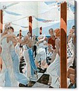 La Vie Parisienne  1931 1930s France Cc Acrylic Print