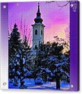 Christmas Card 23 Acrylic Print