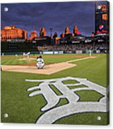 Minnesota Twins V Detroit Tigers Acrylic Print