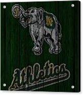Oakland Athletics Acrylic Print