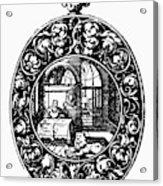 Pocket Watch, 19th Century Acrylic Print