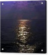 Rays Of Light Shimering Over The Waters Acrylic Print