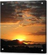 Sunset. Acrylic Print