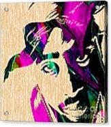 Tupac Collection Acrylic Print