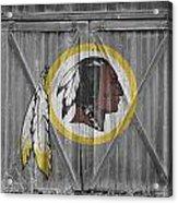 Washington Redskins Acrylic Print