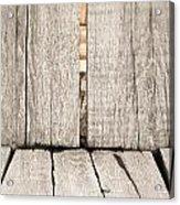 Wood Background Acrylic Print