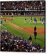 World Series - Chicago Cubs V Cleveland Acrylic Print