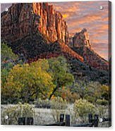 Zion National Park Acrylic Print