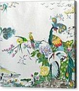100 Birds Acrylic Print