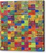 100 Flags Acrylic Print