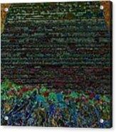 1000 Flowers On 1000 Steps Acrylic Print