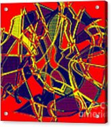 1010 Abstract Thought Acrylic Print