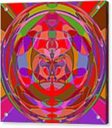 1015 Abstract Thought Acrylic Print
