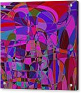 1016 Abstract Thought Acrylic Print