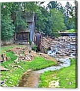Sixes Mill - Dukes Creek - Square Acrylic Print
