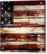 American Flag 33 Acrylic Print