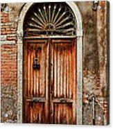 1084-venice Italy Acrylic Print