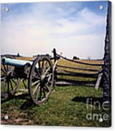 10th Mass Battery - Gettysburg Acrylic Print