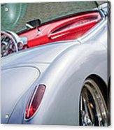 1960 Chevrolet Corvette Acrylic Print by Jill Reger