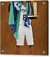 2014 Nba Finals - Game Five Acrylic Print