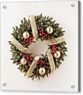 Advent Christmas Wreath  Acrylic Print