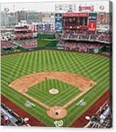 Atlanta Braves V. Washington Nationals Acrylic Print