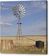 Australia - Windmill In The Wheat Field Acrylic Print
