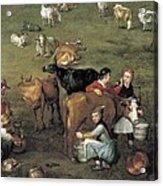 Breugel, Jan, The Elder, Called Velvet Acrylic Print